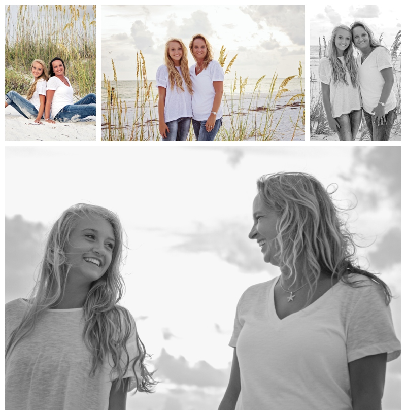 mother daughter beach portraits